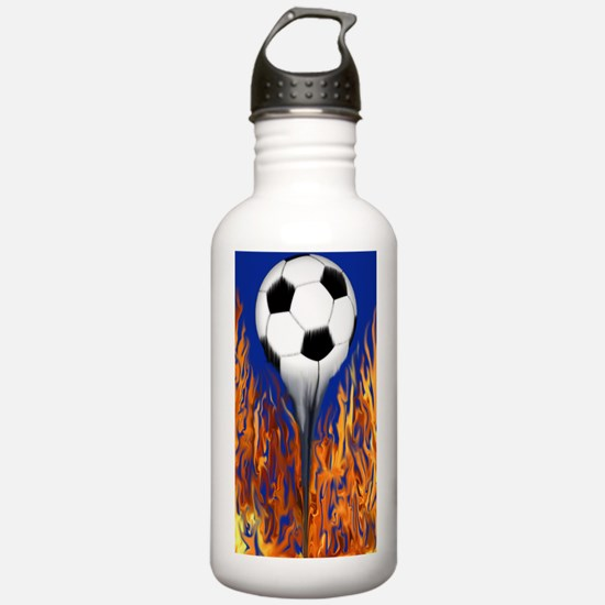 Soccer Ball from hell Water Bottle