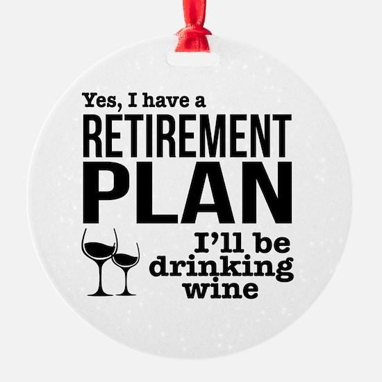 Cool Retirement Ornament