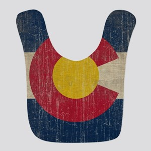 Vintage Colorado Flag Bib