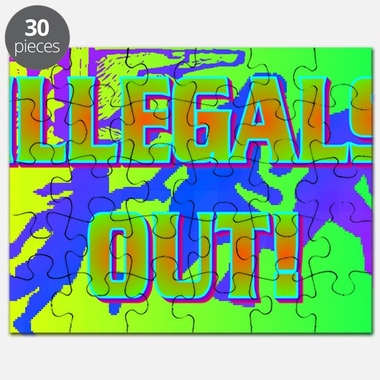 ILLEGALS OUT!(banner) Puzzle