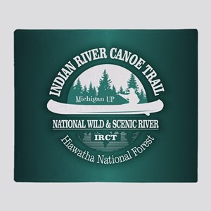 Indian River CT Throw Blanket