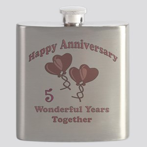 two hearts 5 Flask