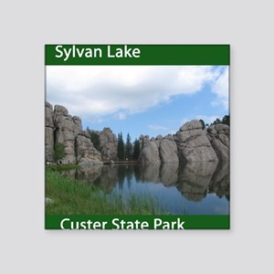 "Sylvan Square Sticker 3"" x 3"""