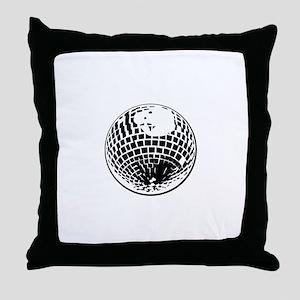 DiscoBall Throw Pillow