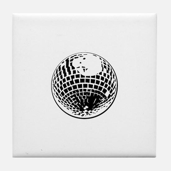 DiscoBall Tile Coaster