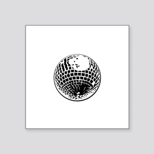 "DiscoBall Square Sticker 3"" x 3"""