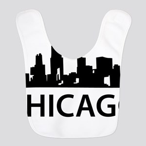 Chicago Skyline Bib