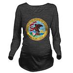 Illinois Seal Long Sleeve Maternity T-Shirt