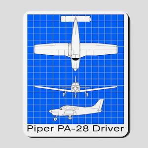 Piper PA-28 Driver Mousepad