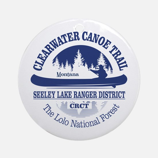 Clearwater CT Round Ornament