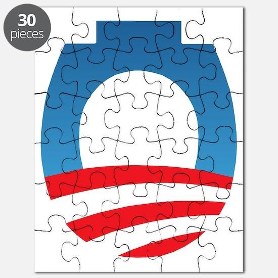 Obama Toilet Logo Puzzle