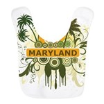 Palm Tree Maryland Bib