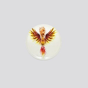 phoenixtransparent Mini Button