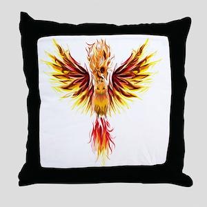 phoenixtransparent Throw Pillow