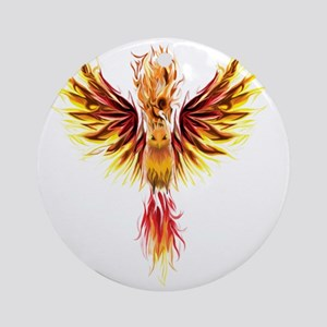 phoenixtransparent Round Ornament