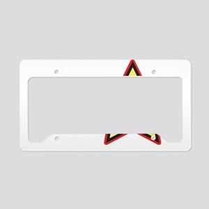 MSMLogoBIG License Plate Holder
