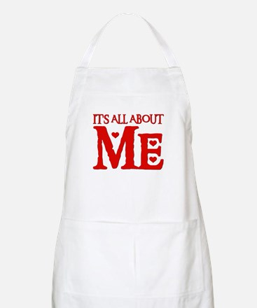 IT'S ALL ABOUT ME BBQ Apron