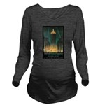 New York Central Building Long Sleeve Maternity T-