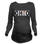 Cute Ohio Long Sleeve Maternity T-Shirt