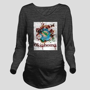 Stylish Oklahoma Long Sleeve Maternity T-Shirt