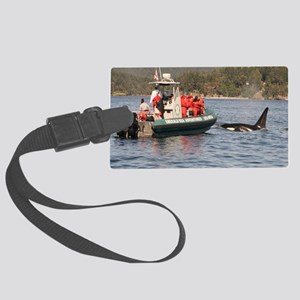 orca Large Luggage Tag