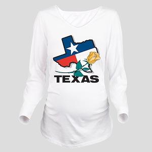 Texas Long Sleeve Maternity T-Shirt
