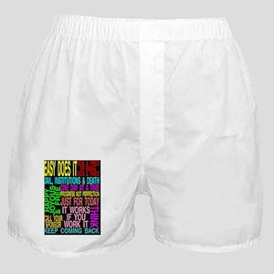 12 STEPSLOGANS 2 Boxer Shorts