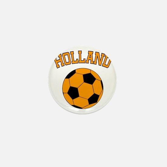 soccerballNL1 Mini Button