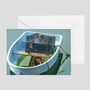 Lobsterboat Greeting Card