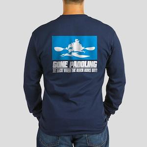 Ipaddle (gone Paddling) Long Sleeve T-Shirt