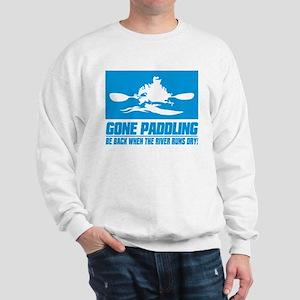 iPaddle (Gone Paddling) Sweatshirt