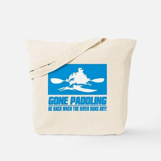 iPaddle (Gone Paddling) Tote Bag