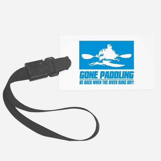iPaddle (Gone Paddling) Luggage Tag