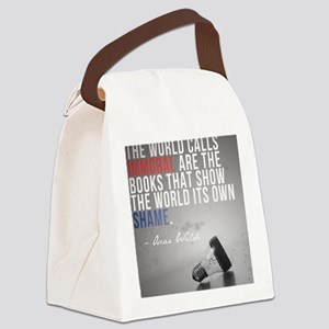 wildePAbannedbooks Canvas Lunch Bag