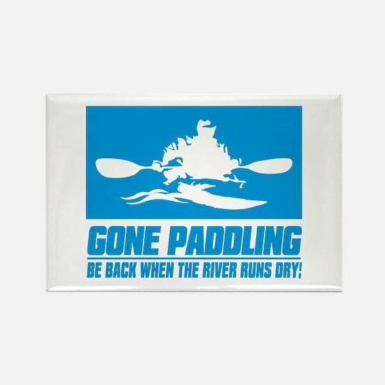 iPaddle (Gone Paddling) Magnets