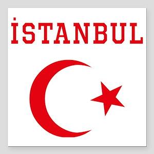 "istanbul1 Square Car Magnet 3"" x 3"""