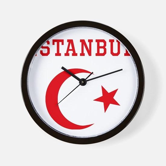 istanbul1 Wall Clock