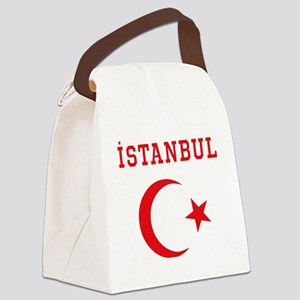 istanbul1 Canvas Lunch Bag