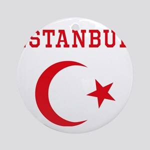 istanbul1 Round Ornament