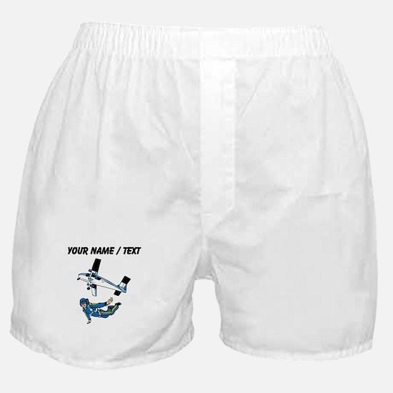 Custom Skydiver Boxer Shorts