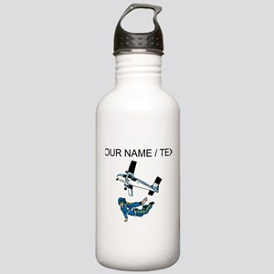 Custom Skydiver Water Bottle