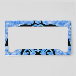 hawaiian honu turtle print License Plate Holder