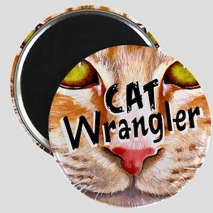 Cat Wrangler 3 Magnet