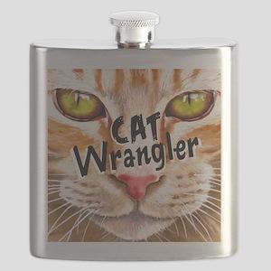 Cat Wrangler 3 Flask