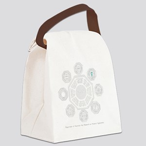Dharma Stations Trans Canvas Lunch Bag