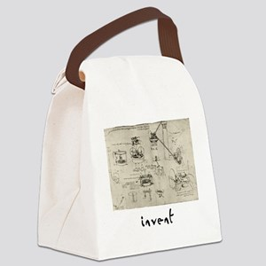 Invent Canvas Lunch Bag