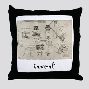 Invent Throw Pillow