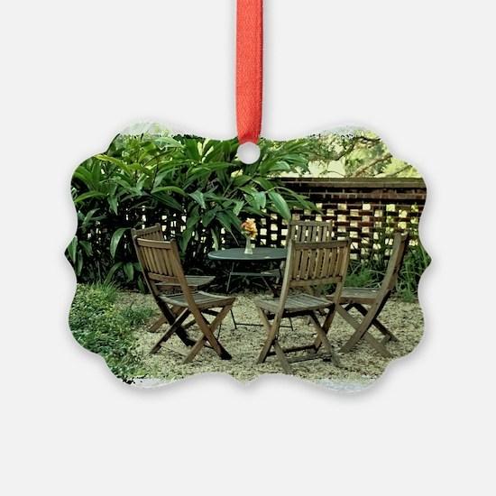 In the garden Ornament