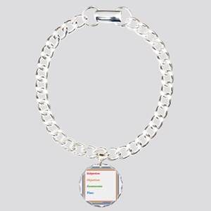 medicine_soap_note_templ Charm Bracelet, One Charm