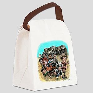 bruton1 Canvas Lunch Bag